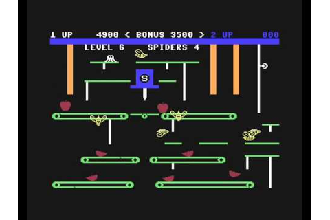 Apple Cider Spider (C64, 1984) - YouTube
