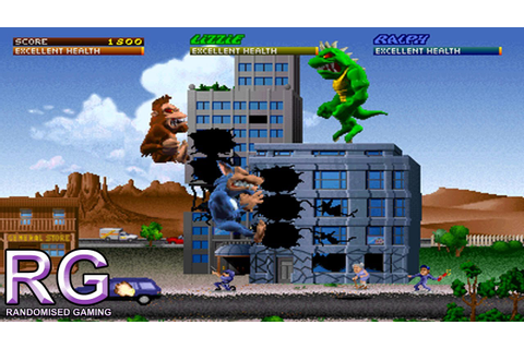 Rampage World Tour - Arcade Gameplay - YouTube