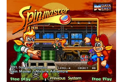 Spin Master (Arcade) - YouTube
