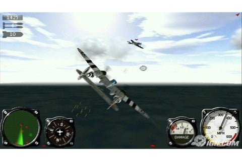 Free Download Air Conflicts Aces of World War II PSP Game ...