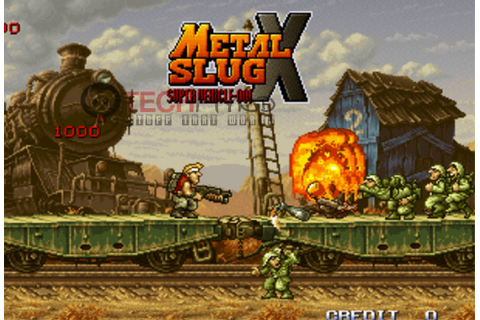 Metal Slug X Review [PSOne] | hiddendefinition