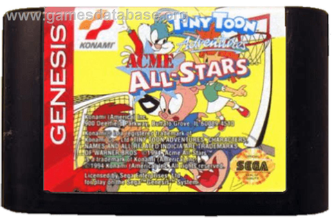 Tiny Toon Adventures: Acme All-Stars - Sega Genesis ...