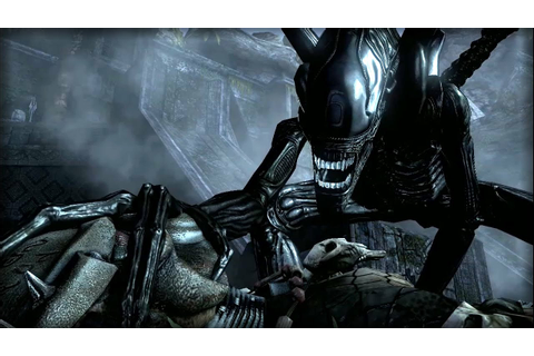 ALIEN VS PREDATOR | Aliens VS Predator (Alien Campaign ...