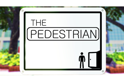 AMAZING GAME CONCEPT | The Pedestrian - YouTube