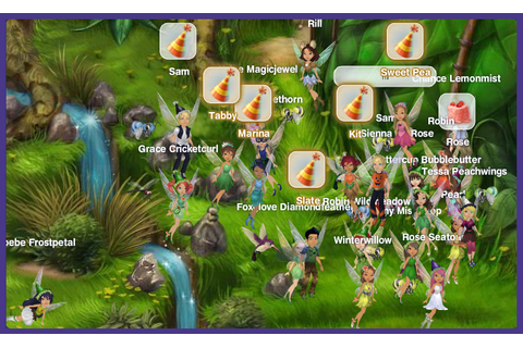 Fairy Games Online Pixie Hollow - Image Mag