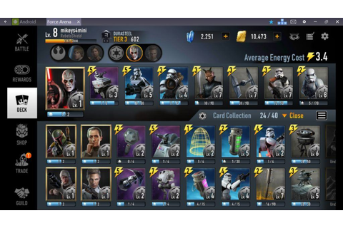 Star Wars: Force Arena Guide for PC