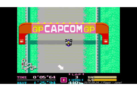 F-1 Dream - 1CC (Capcom Classic Arcade game) - YouTube