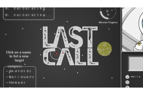 Last Call by Ludipe (@Ludipe) on Game Jolt
