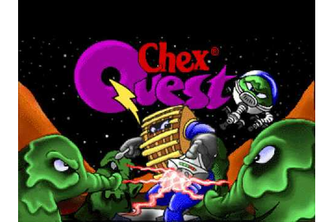 Chex Quest ((DOS)Box) is a great game (480p) - YouTube