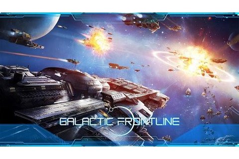 Galactic Frontline - Build and command an interstellar fleet