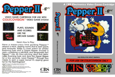 Pepper II | 80'S Top Games