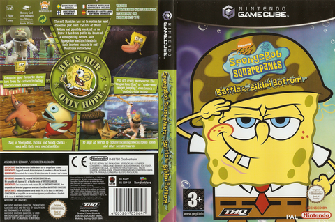 GQPP78 - SpongeBob Squarepants: Battle For Bikini Bottom