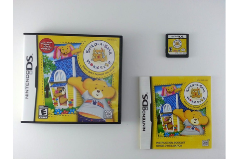 Build-A-Bear Workshop game for Nintendo DS (Complete ...