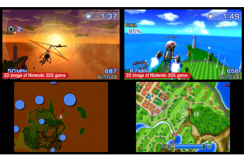 Review: Pilotwings Resort for 3DS Runs Out of Fuel Fast ...