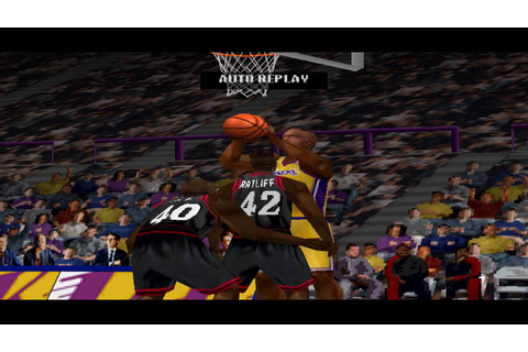 NBA Live 2001 PS1 Gameplay HD - YouTube