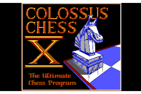 Colossus Chess X (1990) by CDS Software MS-DOS game