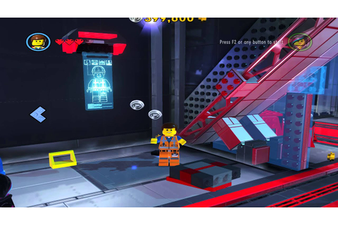 Lego movie game #12 The relic room - YouTube