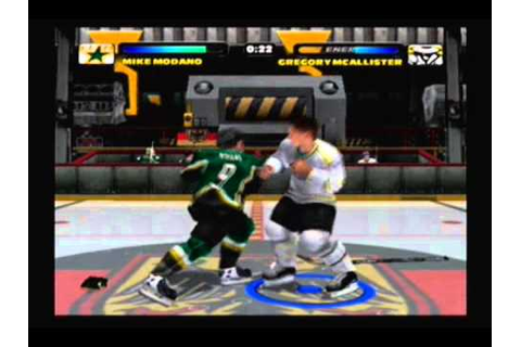 NHL Hitz 2003 Playoffs: WCF Game 1 - Streator vs. Dallas ...