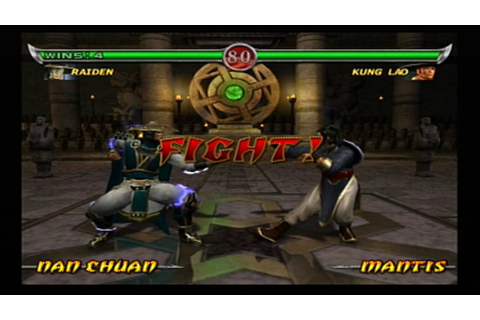 Mortal Kombat: Deadly Alliance - Arcade - Raiden (PS2 ...