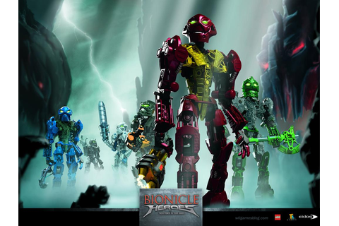 Just download it: Bionicle Heroes