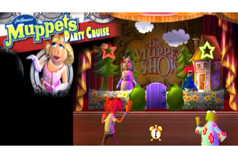 Muppets Party Cruise ... (PS2) - YouTube