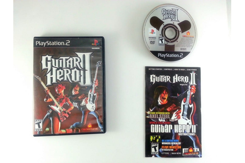 Guitar Hero II game for Playstation 2 (Complete) | The ...