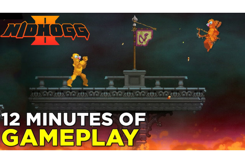 12 Minutes of NIDHOGG 2 Gameplay - YouTube