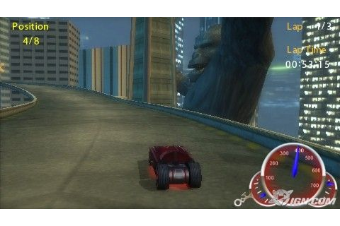 Hot Wheels Ultimate Racing PSP Game | Psp Gamez Iso/Cso