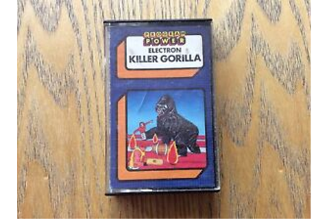 Killer-Gorilla-Acorn-Electrom-Game-Look-At-My-Other-Games