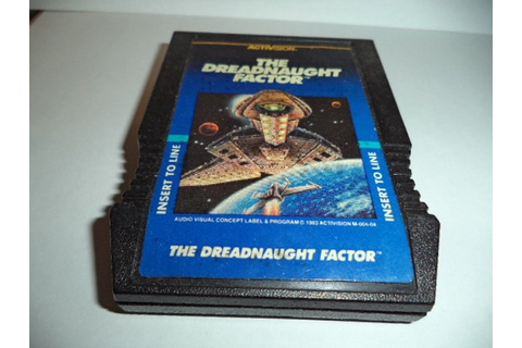Intellivision Game Cartridge : Dreadnaught by ...