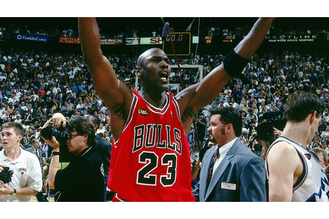 #NBATogetherLive: Michael Jordan leads Chicago Bulls to ...