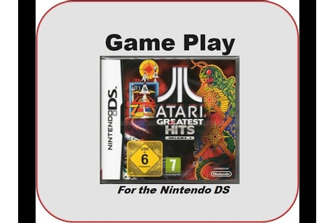 Atari Greatest Hits Vol 1 - Nintendo DS - YouTube