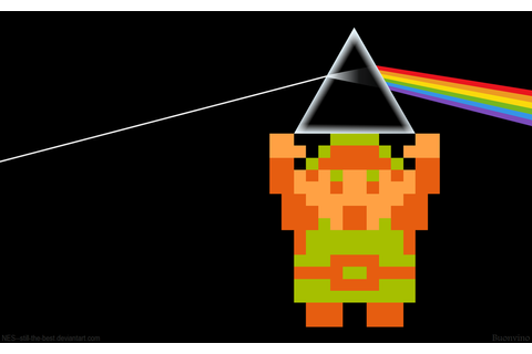 The Dark Side of the Moon Link by NES--still-the-best on ...