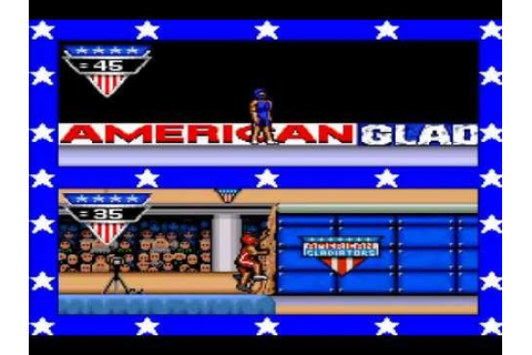 Let's Play American Gladiators (SNES) - Part 1 - YouTube