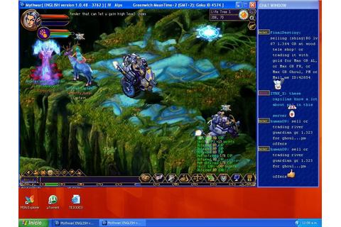 Myth War Online PC Galleries | GameWatcher