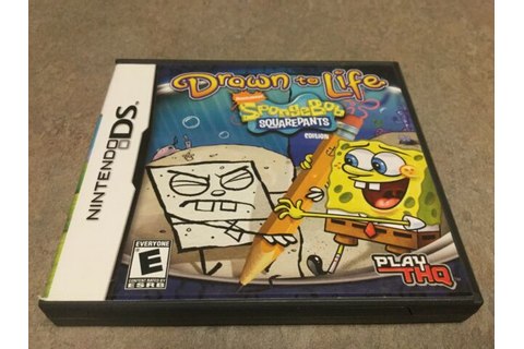 Drawn to Life SpongeBob SquarePants Edition (Nintendo DS ...
