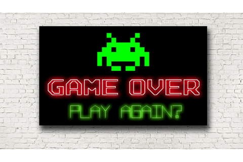 Play Again Neon Sign | Liberty Games
