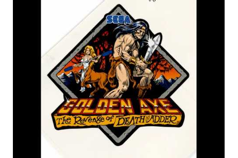 Golden Axe Revenge Of Death Adder [OST] Track 02 (Main ...