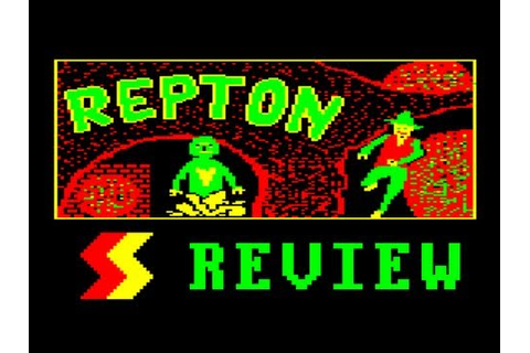 LGR - Repton - Acorn Electron Game Review - YouTube