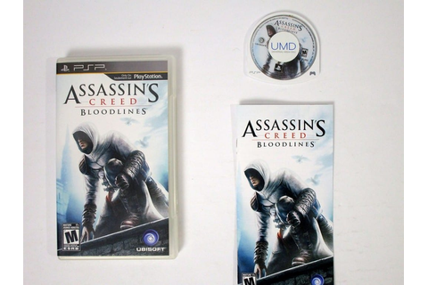 Assassin's Creed: Bloodlines game for PSP (Complete) | The ...