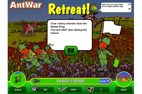 Ant war : Free Online Games - www.freeworldgroup.com