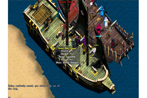 Boat PVP - High Seas Adventure - Ultima Online - YouTube