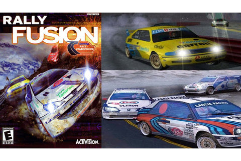 Rally Fusion: Race of Champions - Gameplay Moments PS2 HD ...