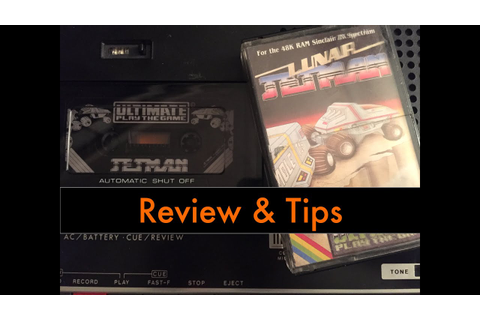 Cool and Unusual Games: Lunar Jetman (ZX Spectrum) Review ...