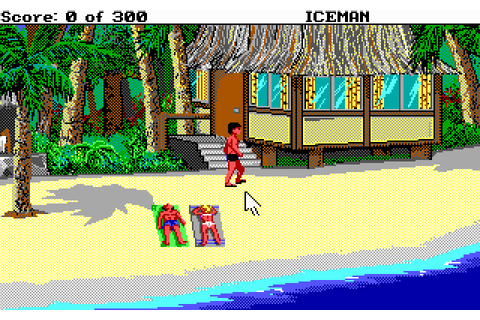 Code Name: Iceman (1990) by Sierra On-Line MS-DOS game