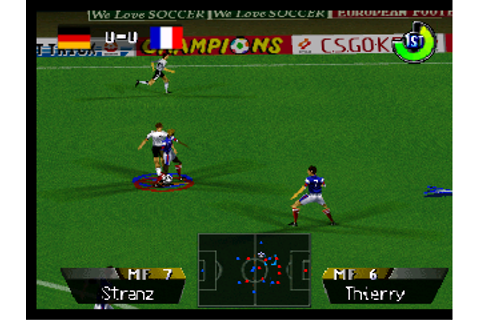 International Superstar Soccer 64 (Europe) ROM