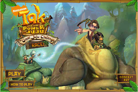 Tak and the Great Juju Challenge Race | Tak and the Power ...