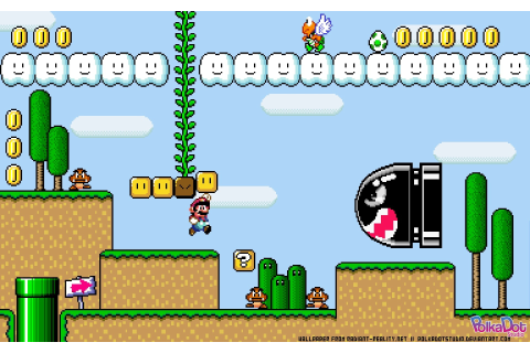 super, Mario, World, Retro, Games Wallpapers HD / Desktop ...