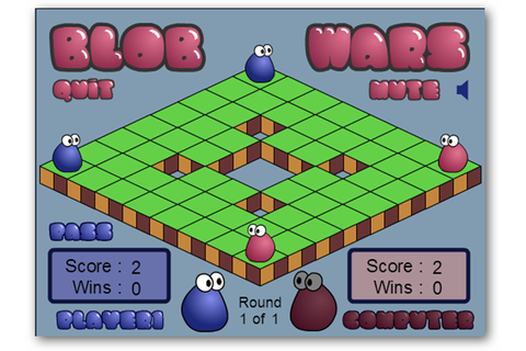 Rise of the Blobs, Blobster HD, and Blob Wars: Weekend ...