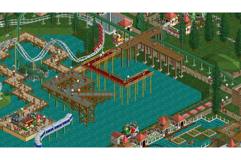 Rollercoaster Tycoon 4 will do Steam Early Access – once ...